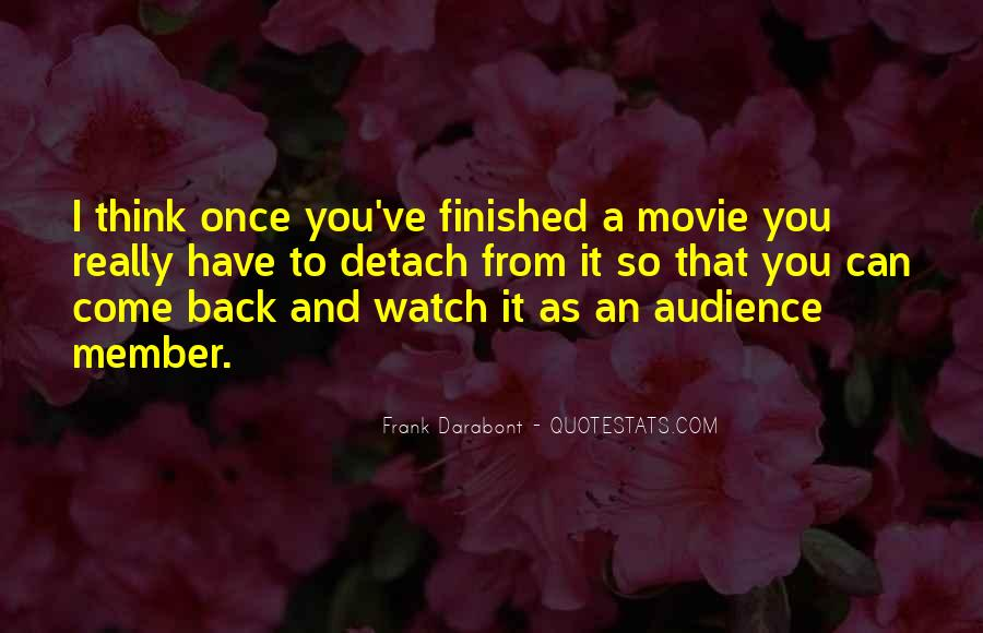 Come Back Movie Quotes #634498