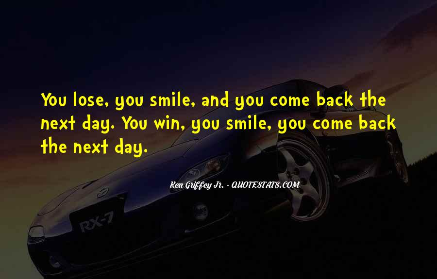 Come Back Soon Quotes #145