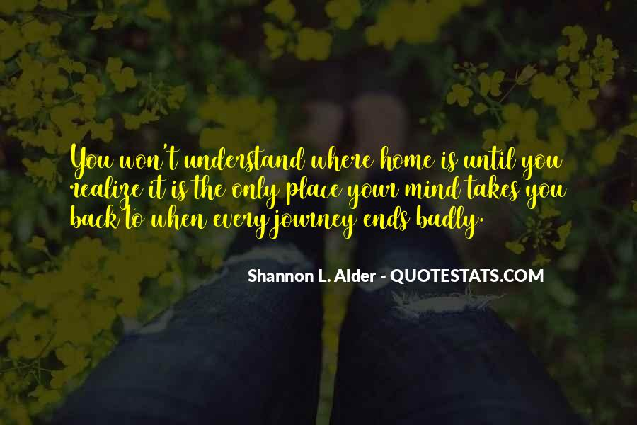 Come Back To Home Quotes #130650