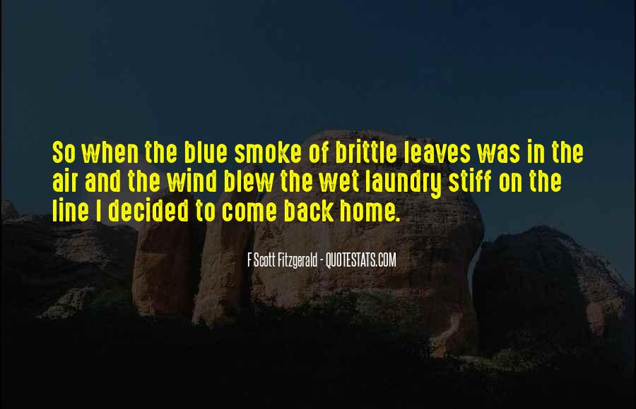 Come Back To Home Quotes #280030