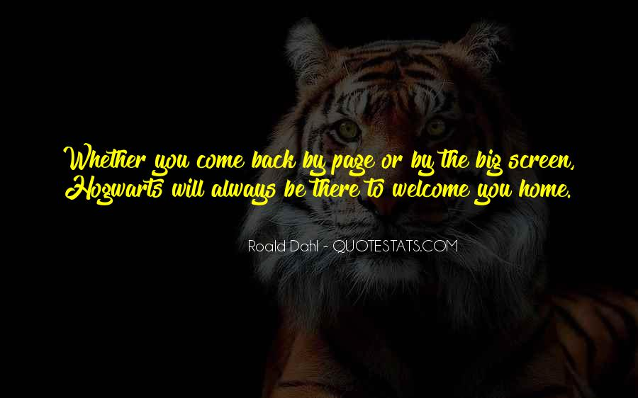 Come Back To Home Quotes #503432
