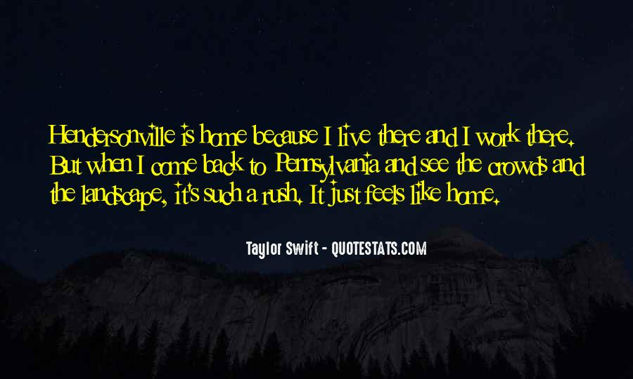 Come Back To Home Quotes #723342