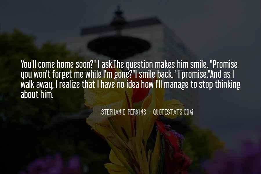 Come Back To Home Quotes #838639
