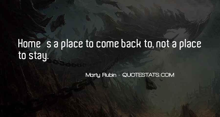 Come Back To Home Quotes #935769