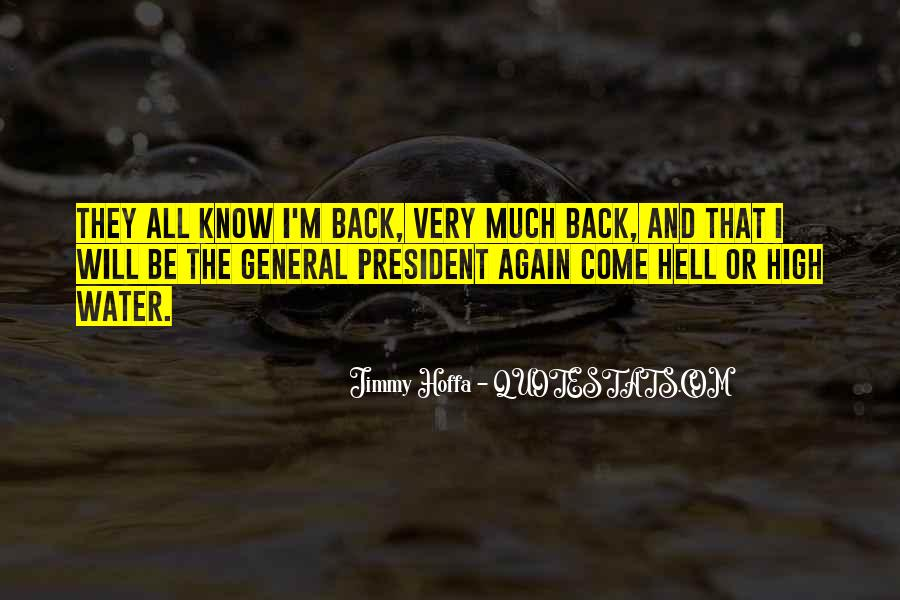 Come Hell Or High Water Quotes #1697781