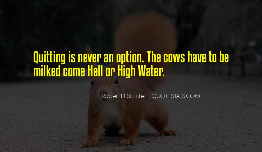 Come Hell Or High Water Quotes #266583