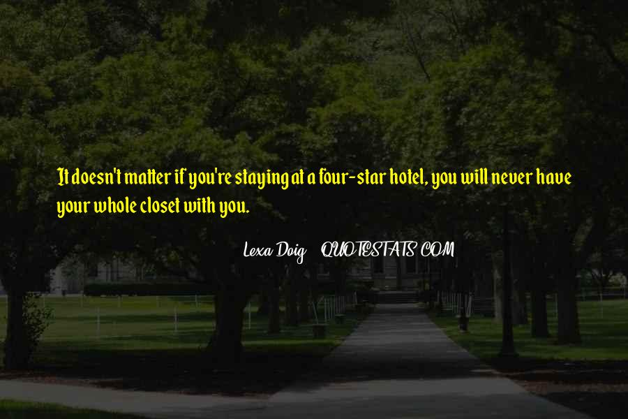 Come Out The Closet Quotes #123104
