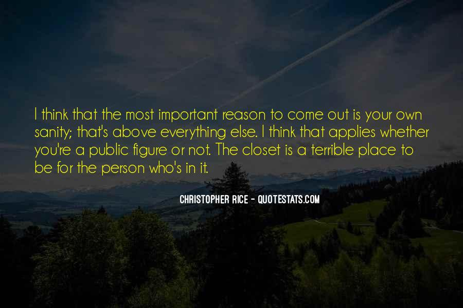 Come Out The Closet Quotes #474540