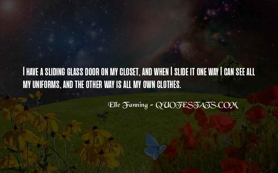 Come Out The Closet Quotes #73943