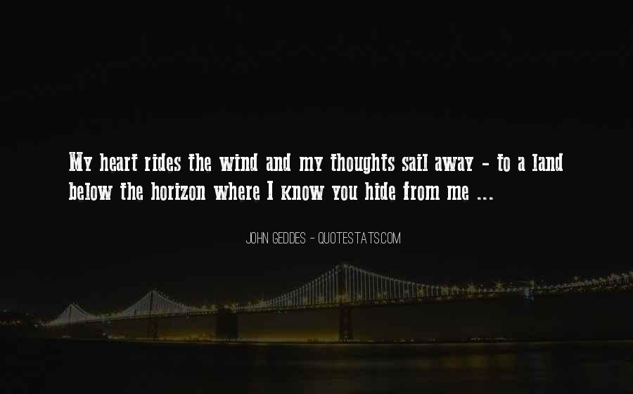 Come Sail Away Quotes #869507