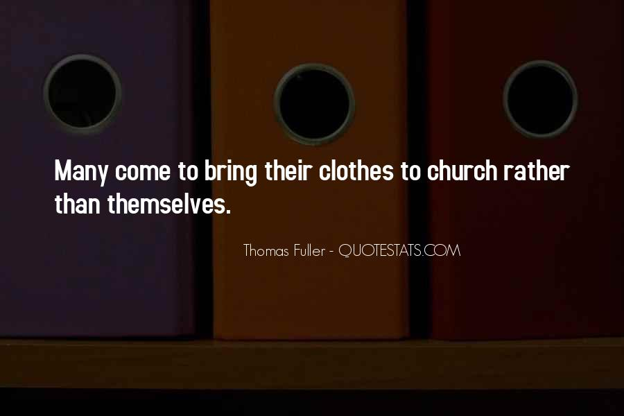 Come To Church Quotes #101410