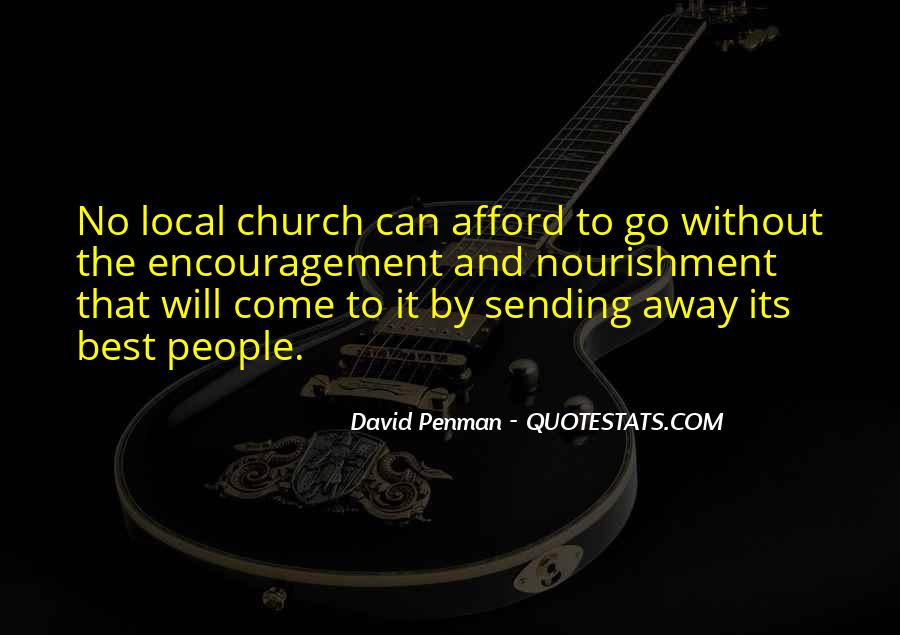 Come To Church Quotes #101785