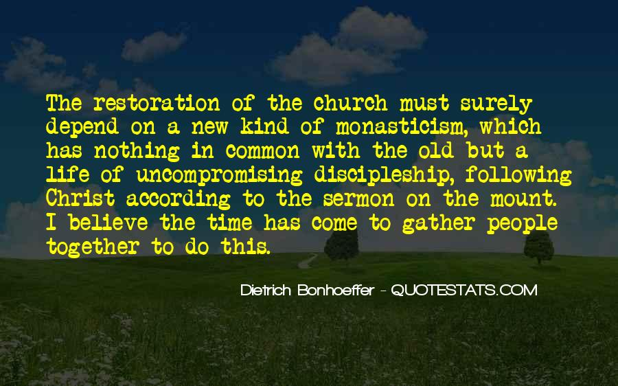 Come To Church Quotes #1047715