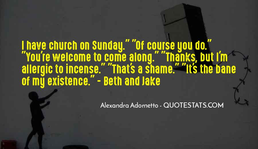 Come To Church Quotes #1086403