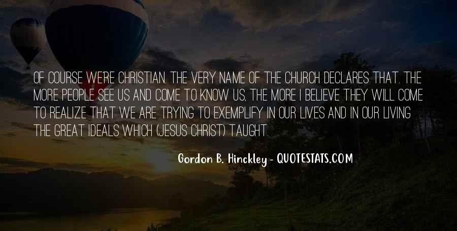 Come To Church Quotes #1128524