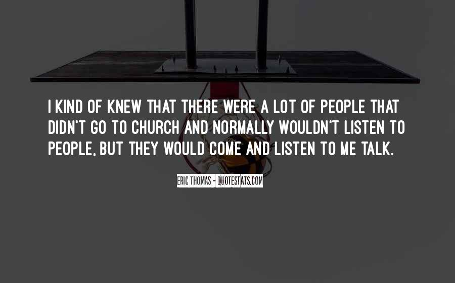 Come To Church Quotes #141156
