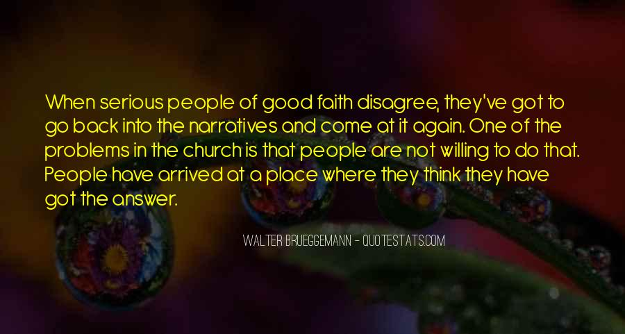 Come To Church Quotes #214829