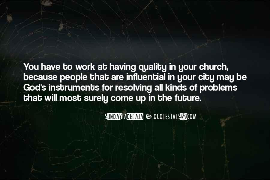 Come To Church Quotes #412564