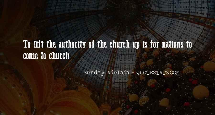 Come To Church Quotes #469096