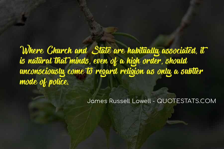 Come To Church Quotes #532335