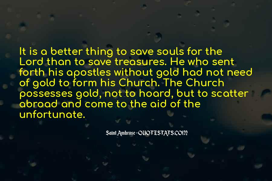 Come To Church Quotes #67109