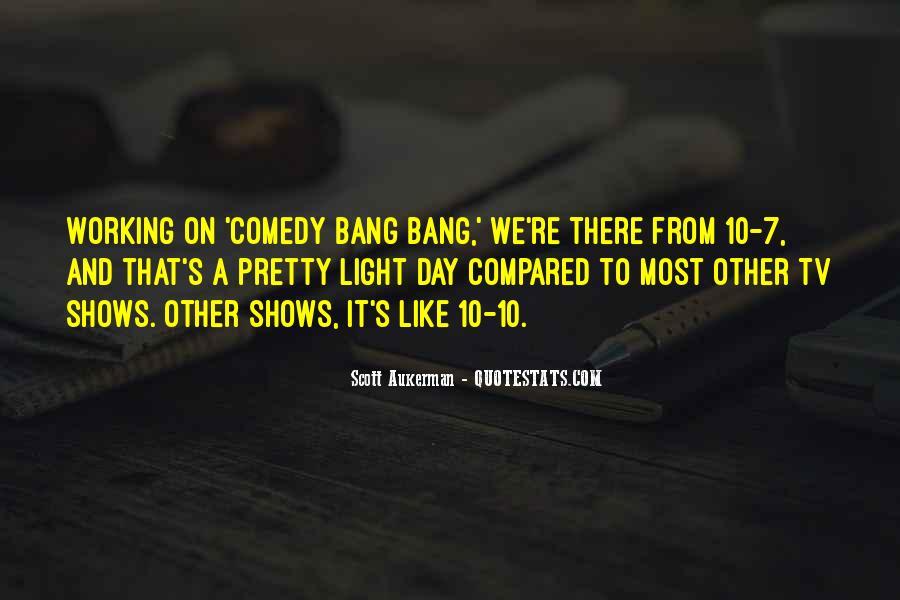 Comedy Bang Bang Quotes #99032