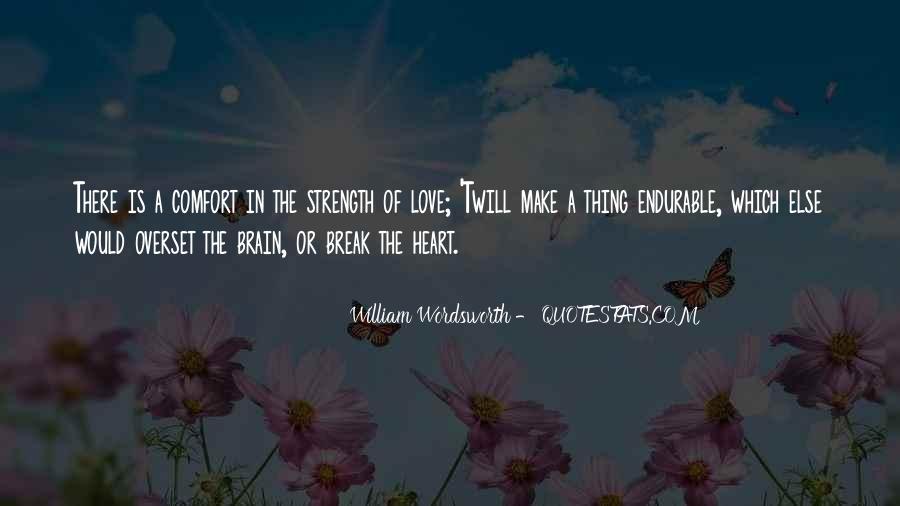 Comfort For Break Up Quotes #1359398
