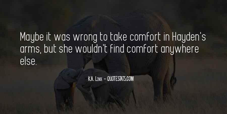 Comfort For Break Up Quotes #1728526