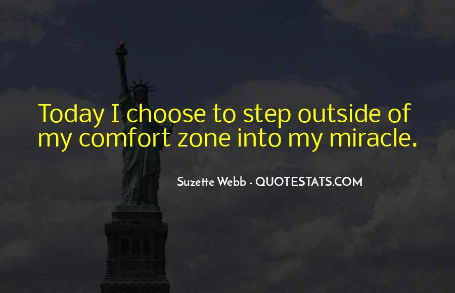 Comfort Herself Quotes #18822