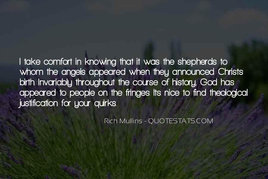 Comfort In God Quotes #1025910