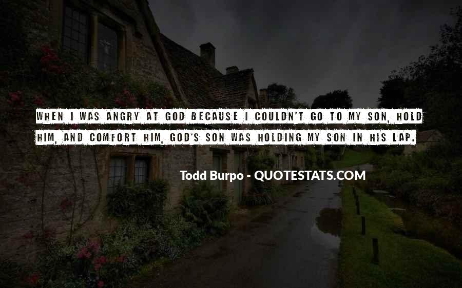 Comfort In God Quotes #1065108