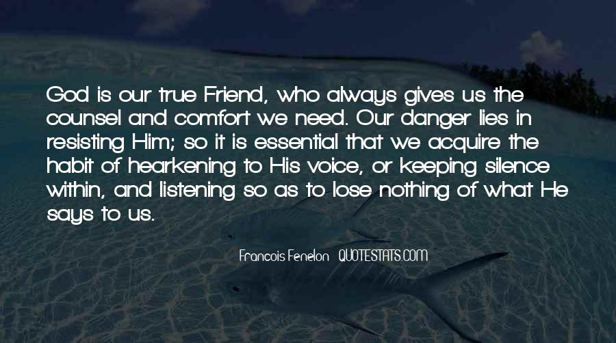 Comfort In God Quotes #1094838