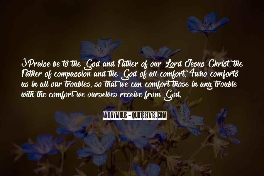 Comfort In God Quotes #1189568