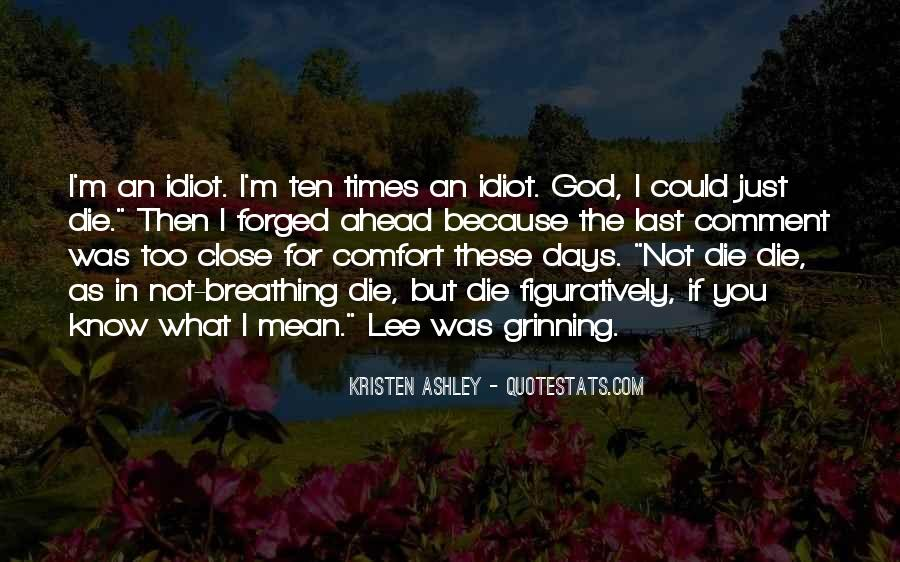 Comfort In God Quotes #1238908