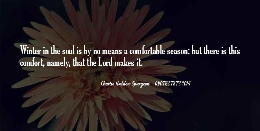 Comfort In God Quotes #1390174
