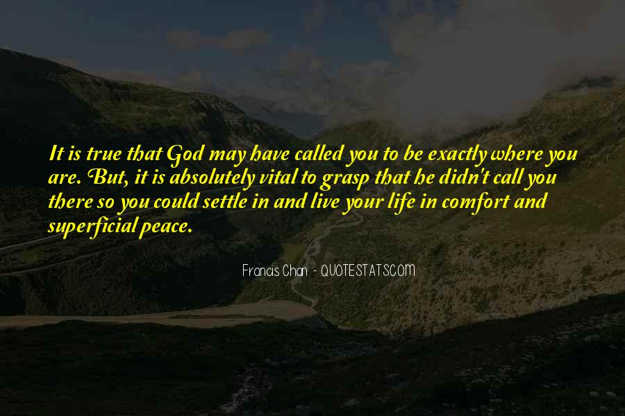 Comfort In God Quotes #1392327