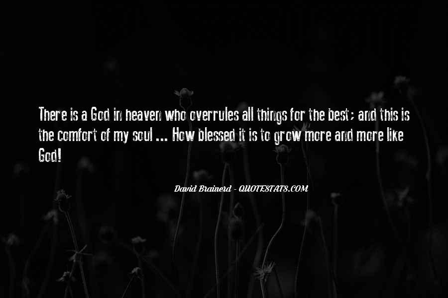 Comfort In God Quotes #1443668