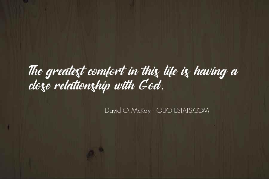 Comfort In God Quotes #211878