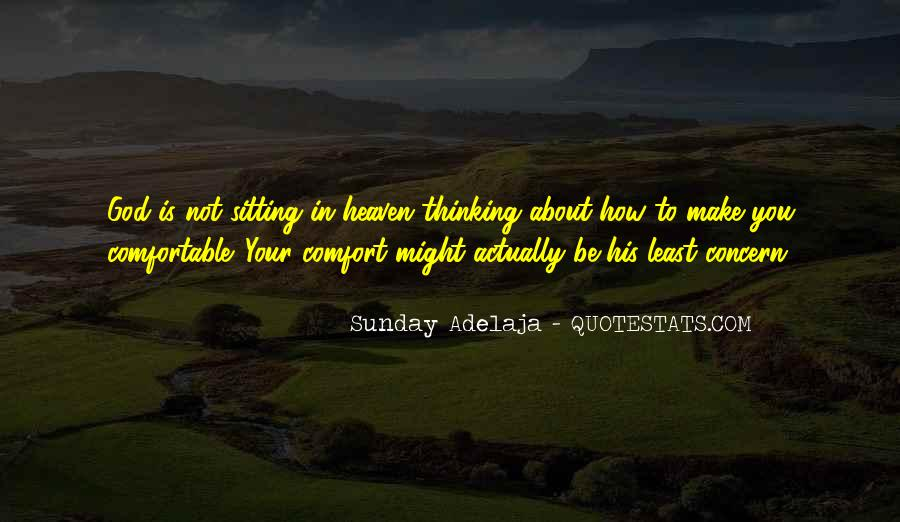Comfort In God Quotes #275599