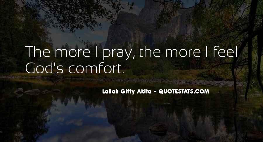 Comfort In God Quotes #292916