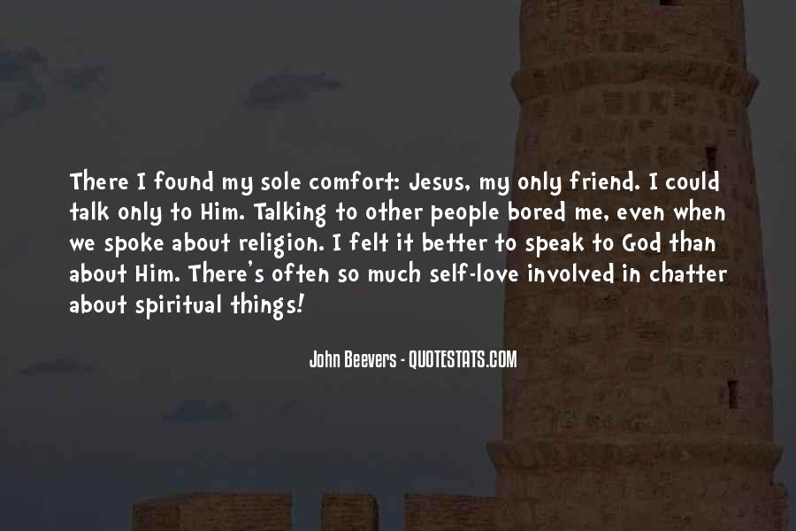 Comfort In God Quotes #367340