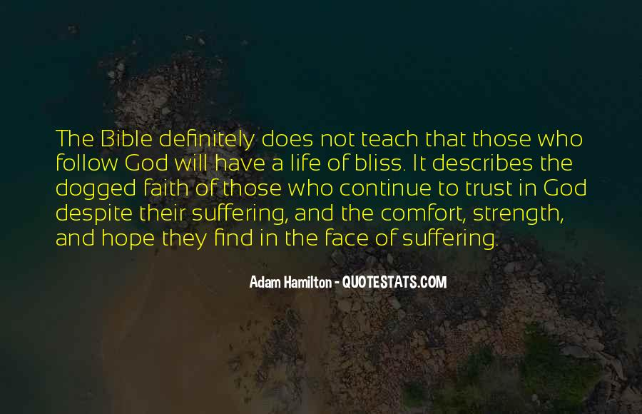 Comfort In God Quotes #475087