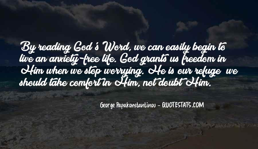 Comfort In God Quotes #567660