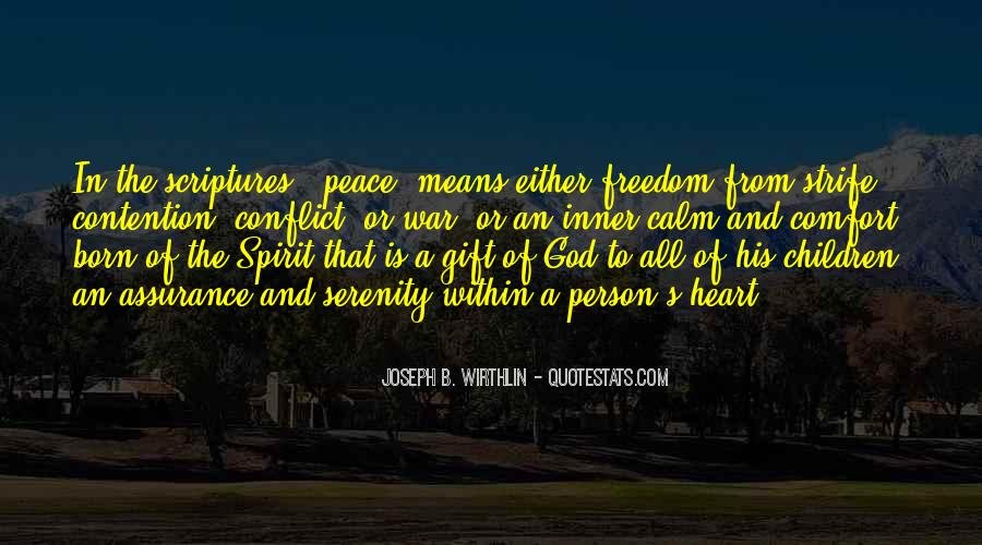 Comfort In God Quotes #730937