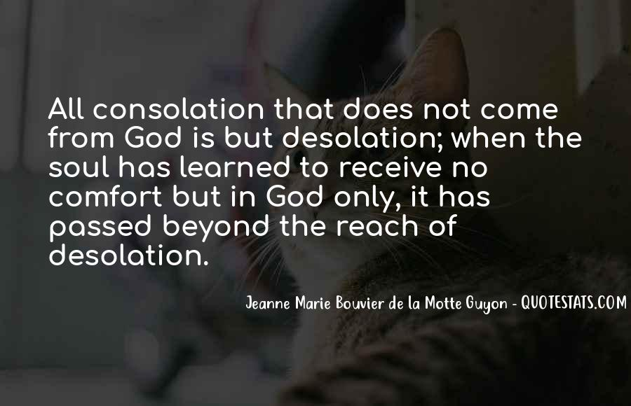 Comfort In God Quotes #758568
