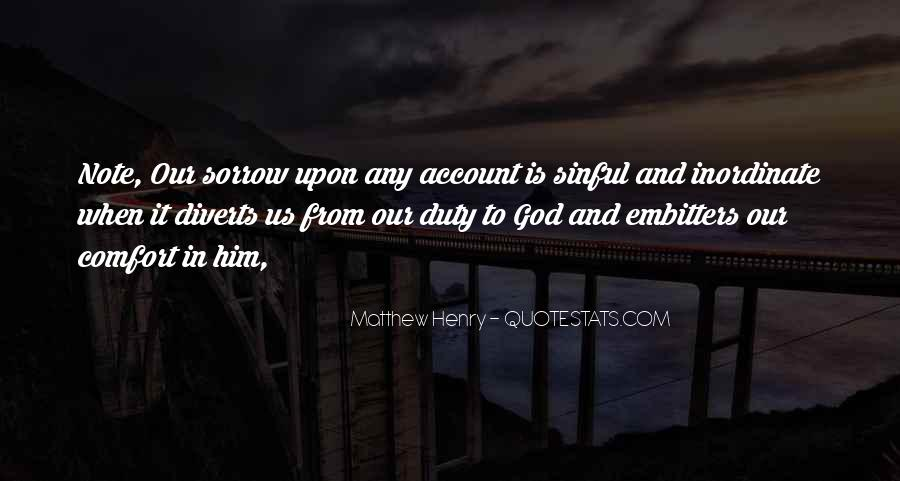 Comfort In God Quotes #99704