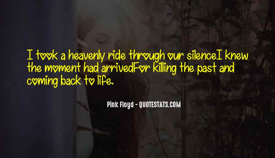 Coming Back Into Your Life Quotes #344096