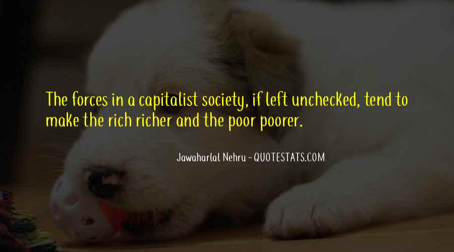 Quotes About The Poor And Rich #161601