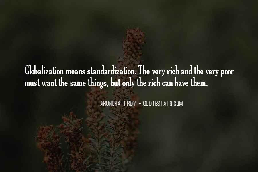 Quotes About The Poor And Rich #204082