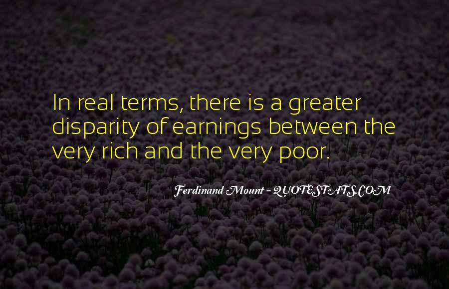 Quotes About The Poor And Rich #273041
